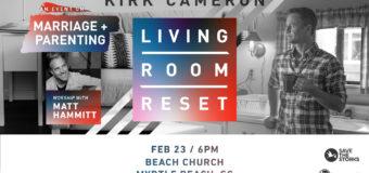 Kirk Cameron coming to MB